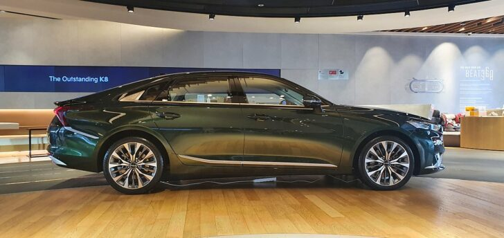 All New KIA K8 Launched in South Korea 10