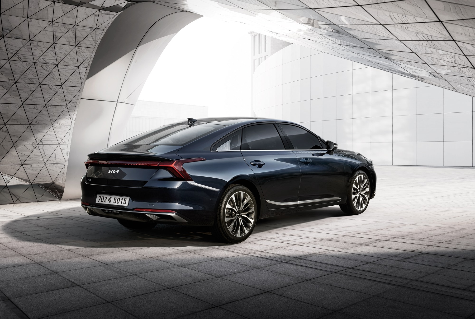 All New KIA K8 Launched in South Korea 6