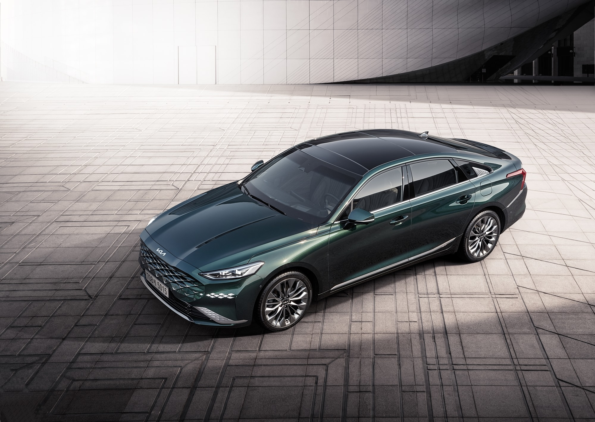 All New KIA K8 Launched in South Korea 5