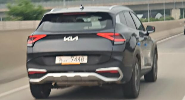 Real-Life Images of All New Kia Sportage 7