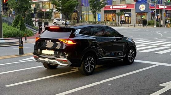 Real-Life Images of All New Kia Sportage 4
