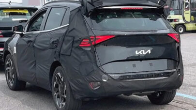 5th Gen Kia Sportage Development Continues, Hybrid Seen at the Nurburgring 5