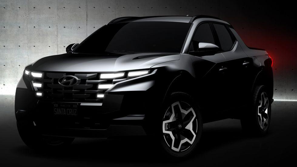Hyundai Santa Cruz Revealed Ahead of 15th April Debut 1