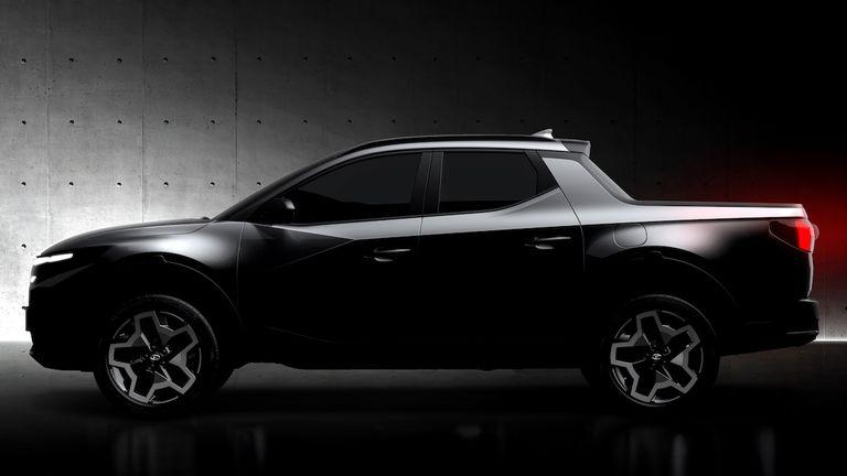 Hyundai Santa Cruz Revealed Ahead of 15th April Debut 2