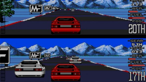 Remembering The Classic 'Lotus Esprit Turbo Challenge' Game 5