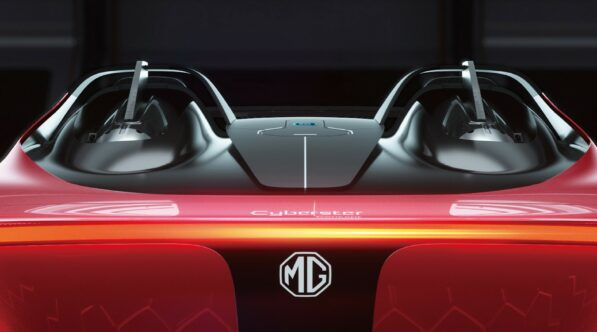 MG Cyberster EV Concept Unveiled 7