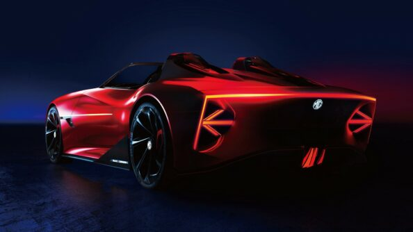 MG Cyberster EV Concept Unveiled 8