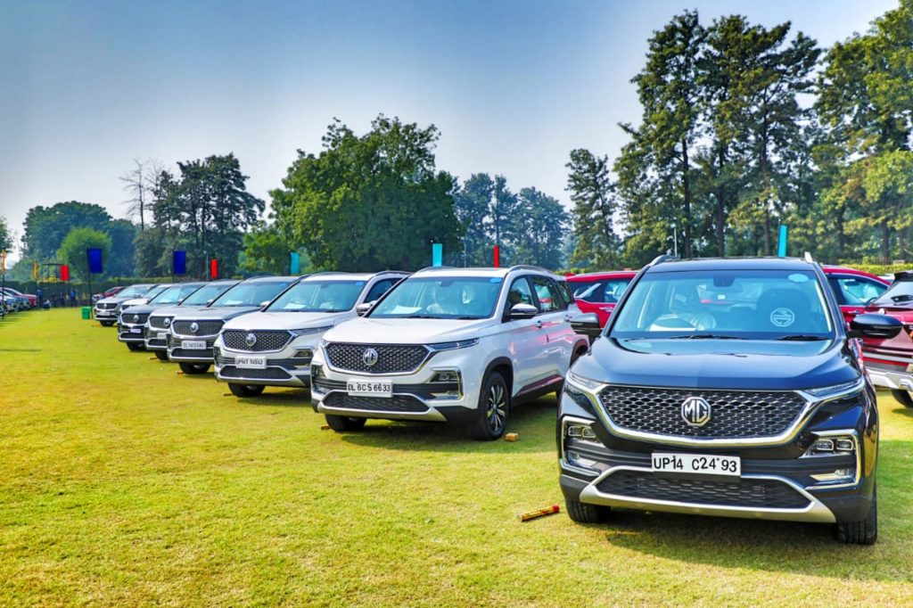 MG Records Highest-Ever Sales in India 2