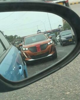 Peugeot 2008 Spotted in Vibrant Camouflaging Livery 3