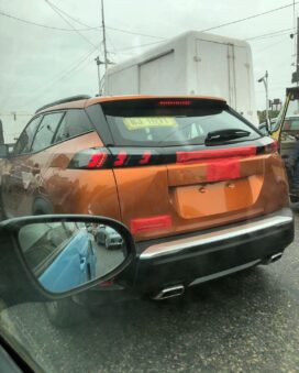 Peugeot 2008 Spotted in Vibrant Camouflaging Livery 4