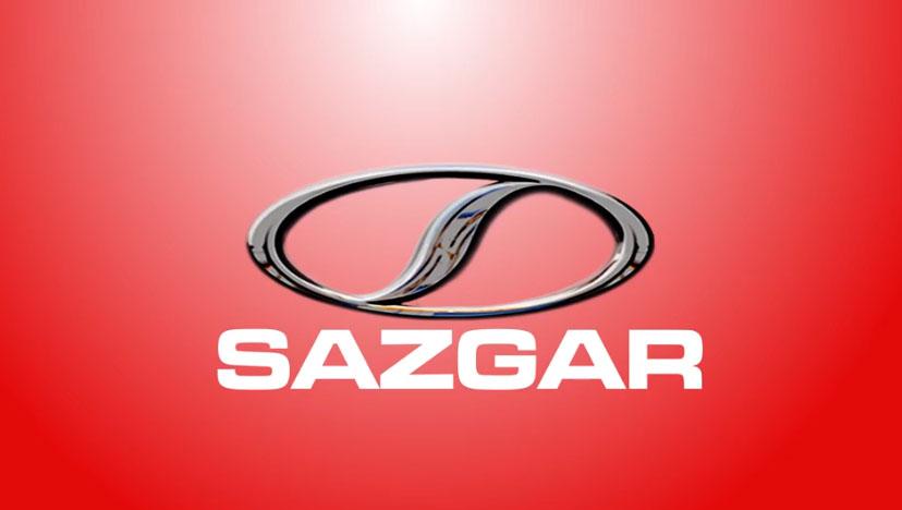sazgar logo red