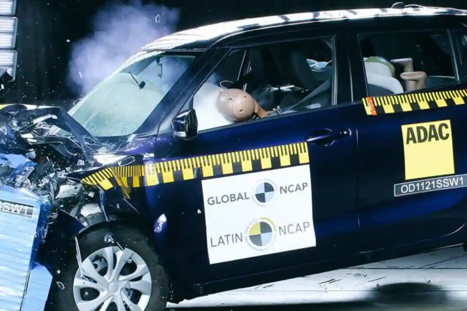 suzuki swift latin ncap crash test