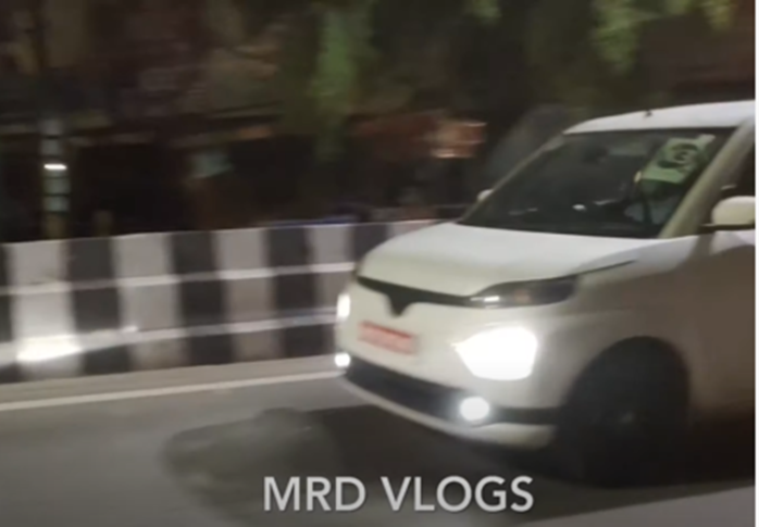 Toyota WagonR Spotted Testing in India 1