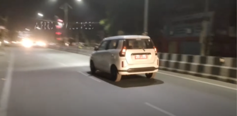 Toyota WagonR Spotted Testing in India 2