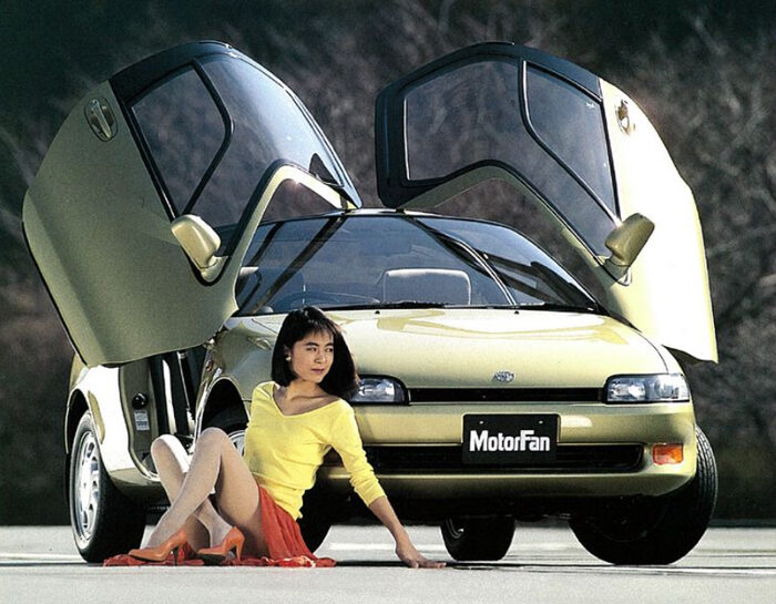 Remembering Toyota Sera from the 90s 29