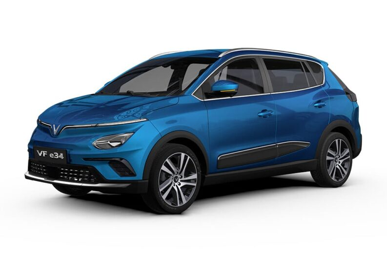 Vietnam's First Electric Crossover- VinFast VF e34 Debuts 4