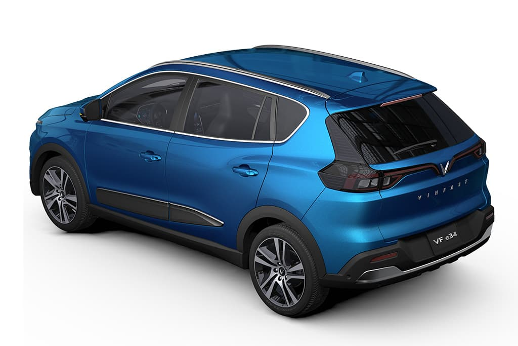 Vietnam's First Electric Crossover- VinFast VF e34 Debuts 2